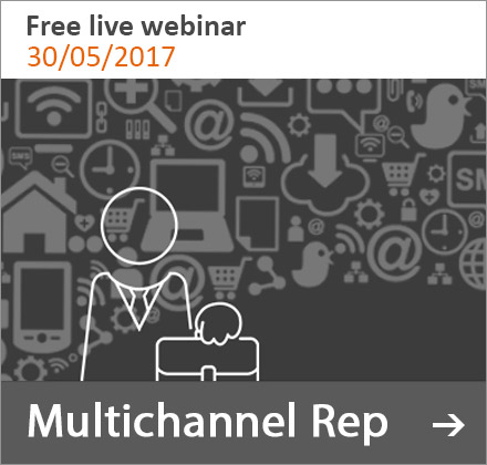 Free live webinar: Multichannel Rep