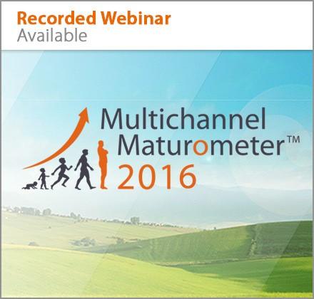 Recorded Webinar Multichannel Maturometer 2016